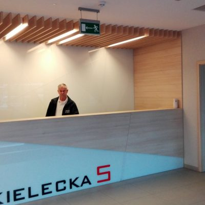 Kielecka 5 Biurowiec - Recepcja 1